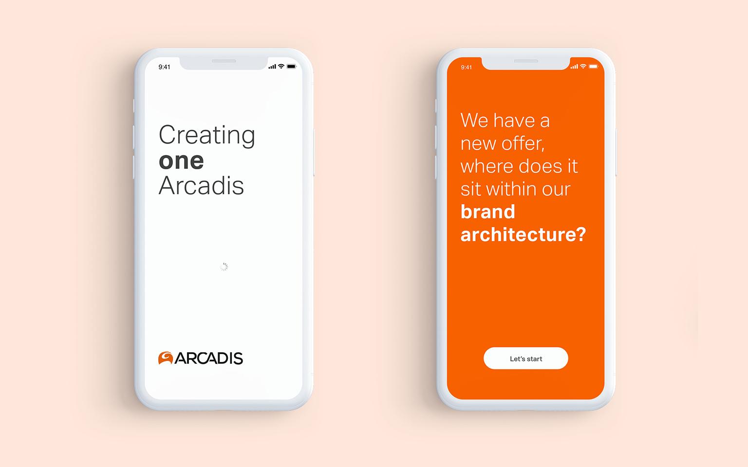 Arcadis brand architecture
