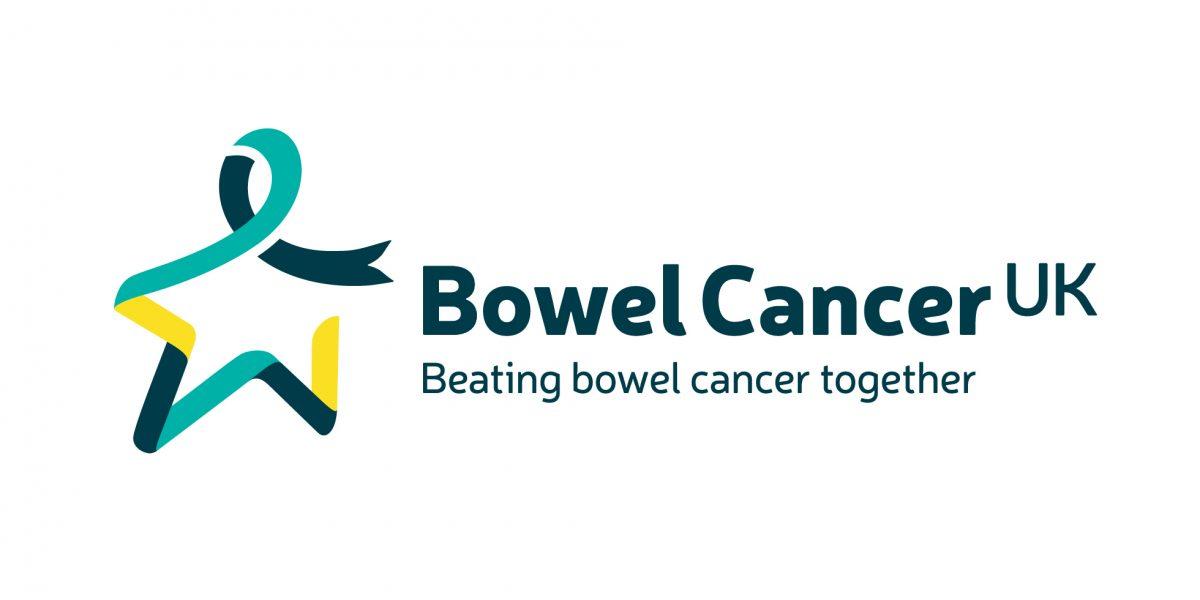 The Team creative brand and communications agency. Bowel Cancer UK brand identity rebrand - Logo