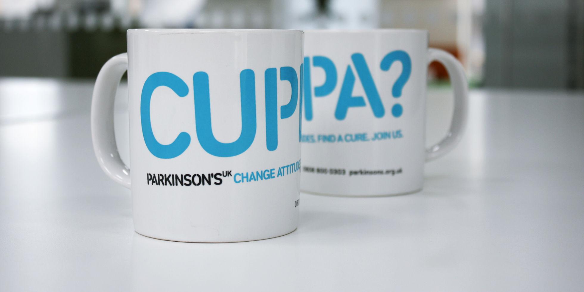 Parkinson's , branding, logo design