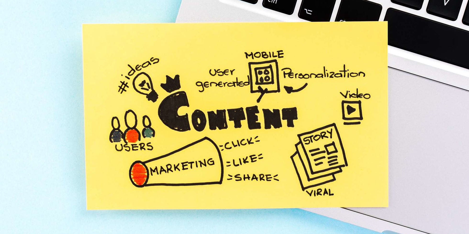 The Team brand and communications agency. Five tips to bring your brand to life with content