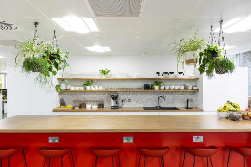 The Team brand and communications agency. Office redesign workplace design 2
