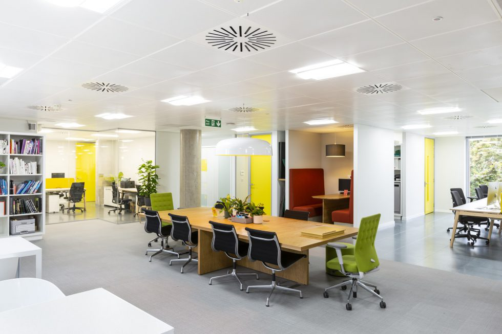 The Team brand and communications agency. Office redesign workplace design 3