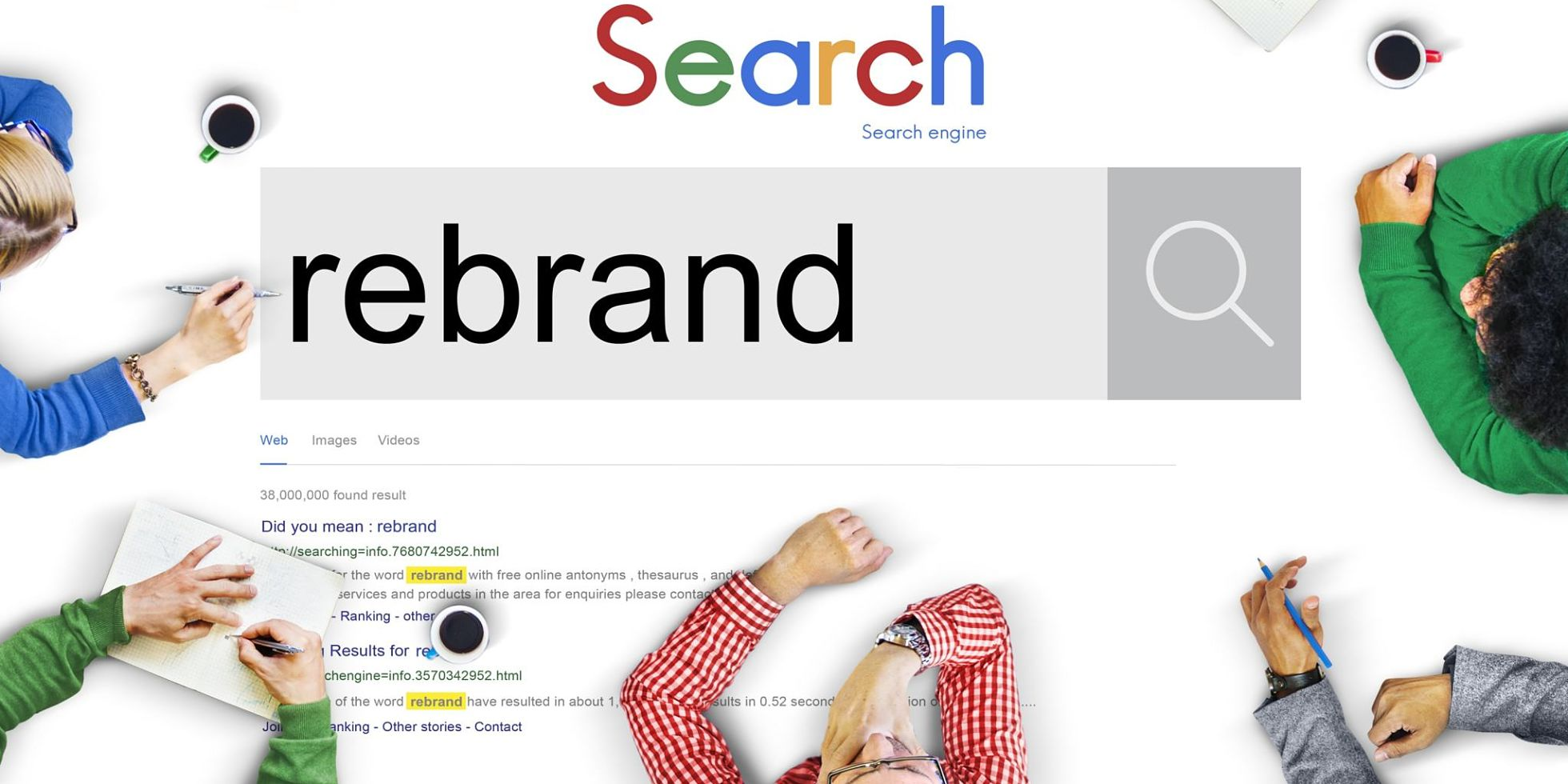 The Team creative branding agency. How to pull off a rebrand 2