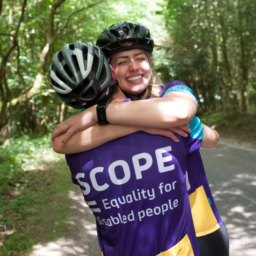 The Team creative branding agency. Scope rebrand a game-changing brand accessible design cyclists hugging