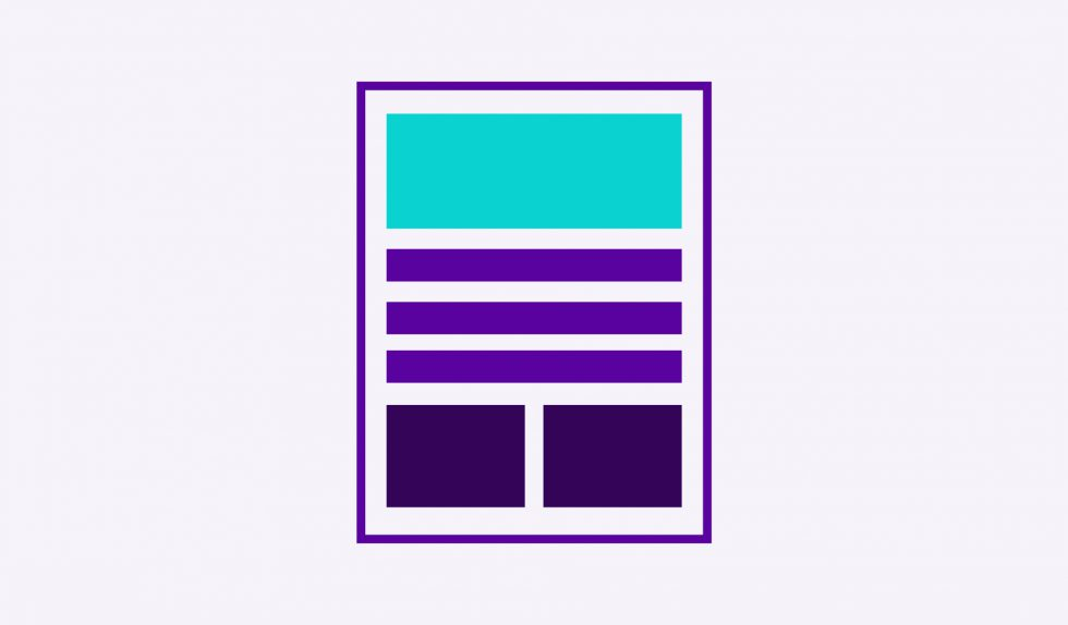 The Team creative branding agency. Scope rebrand design layout accessible design 1