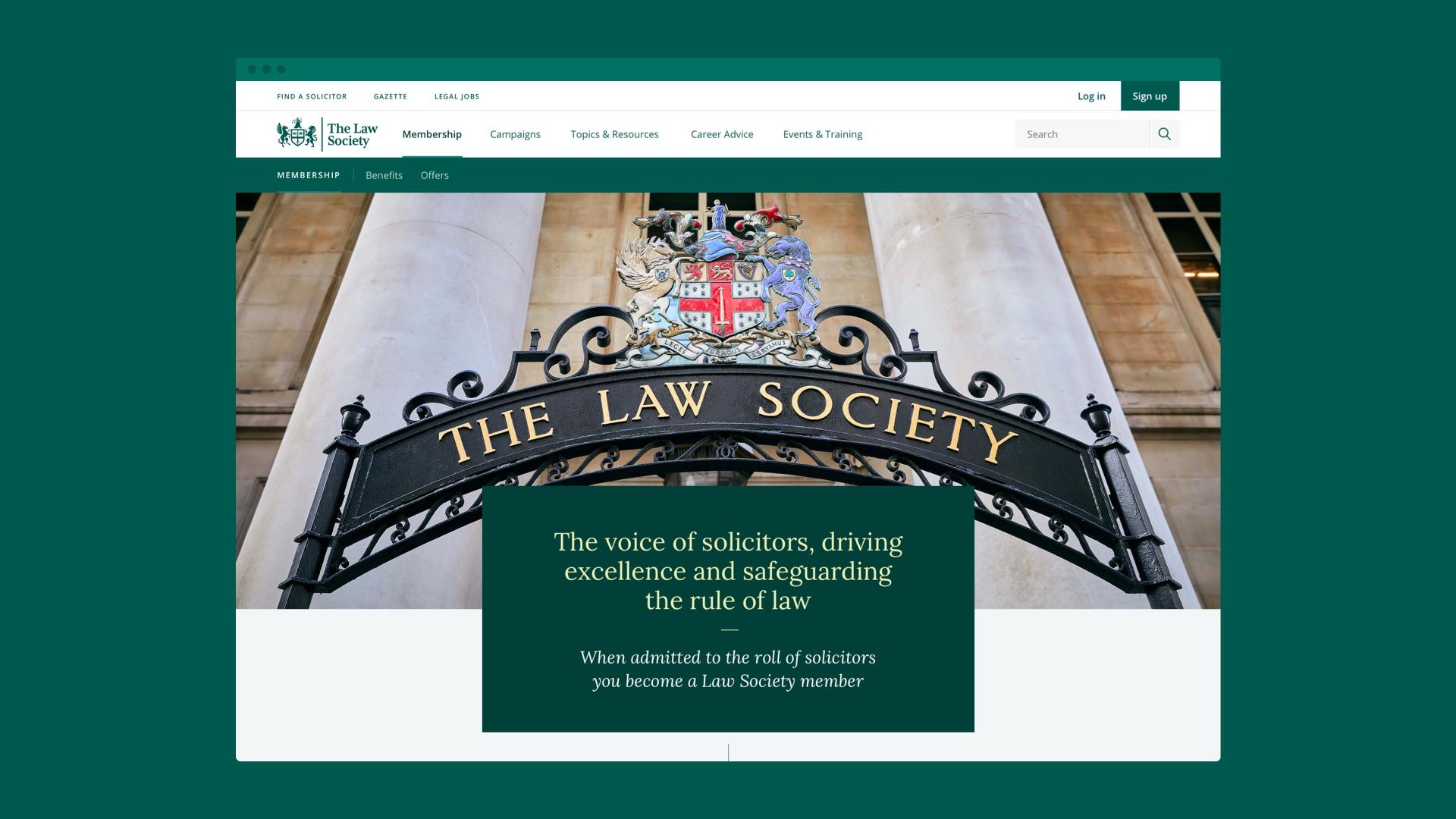 Law society case study