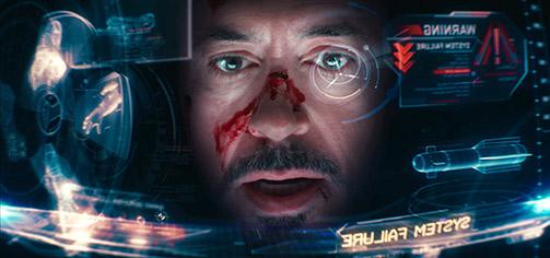 Iron man UI