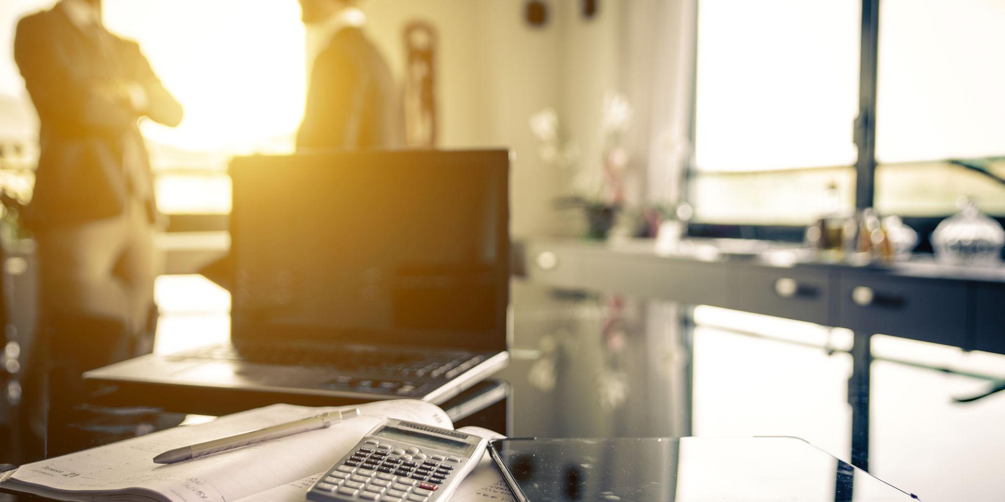 Office interior - employee communications