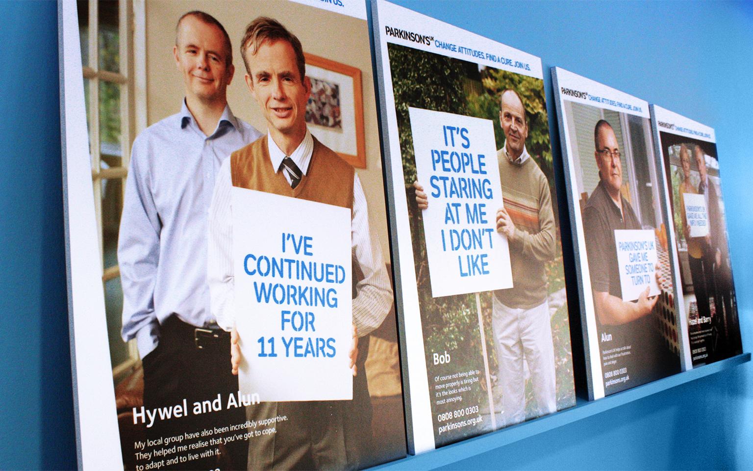 Parkinson's UK brochures