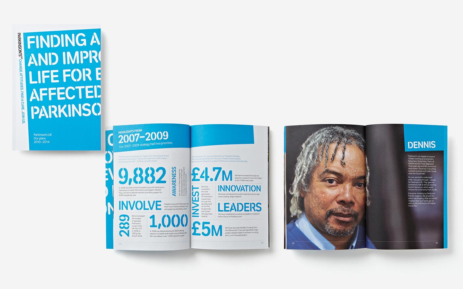 Parkinsons UK brochure