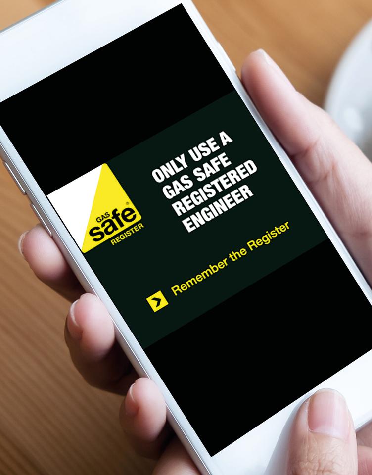 Gas Safe Register Sign