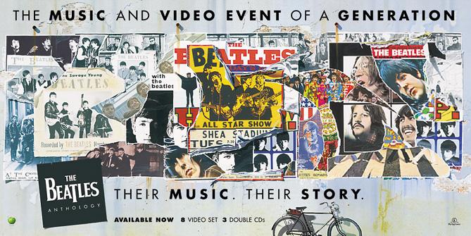 Beatles Anthology 48 Sheet