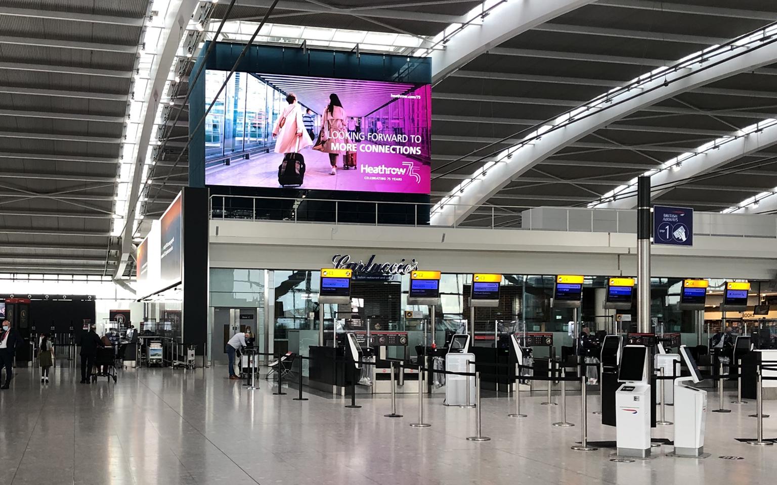 Heathrow Terminal Poster